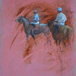 Deux jockeys