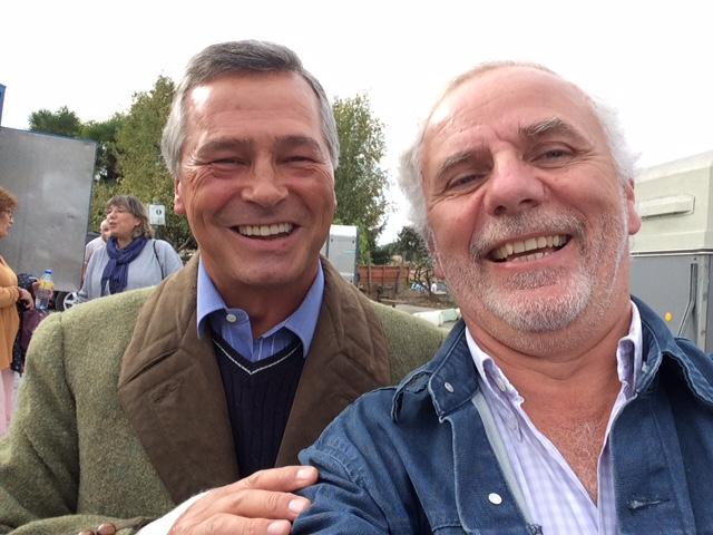 Avec Victor.   P. Varin