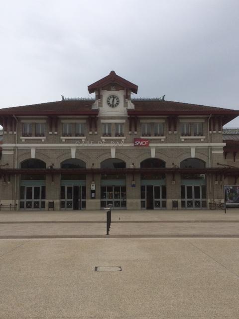 Gare de Dax où les trains n'arrivent pas